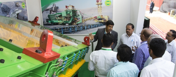 MMD Attends India's Premier Mining Event